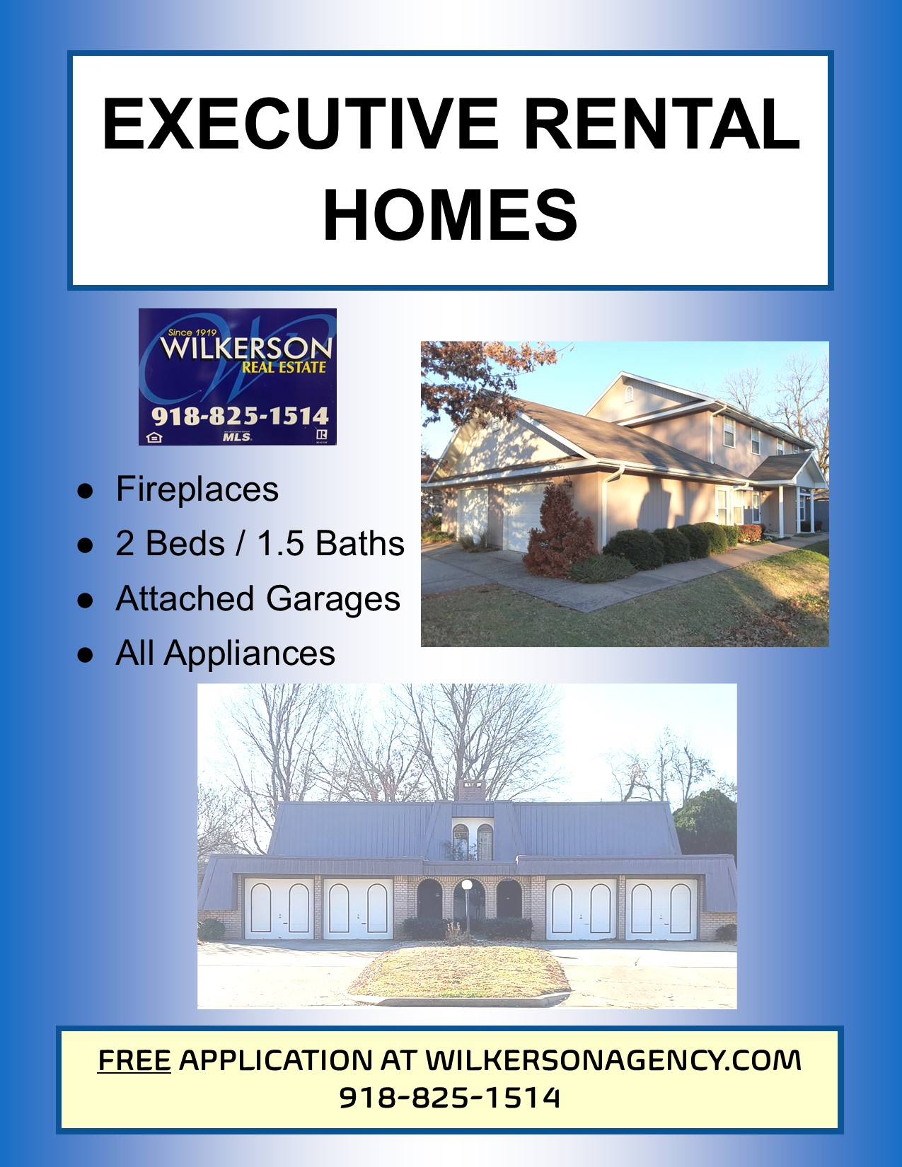 Executive Rental Homes for Rent